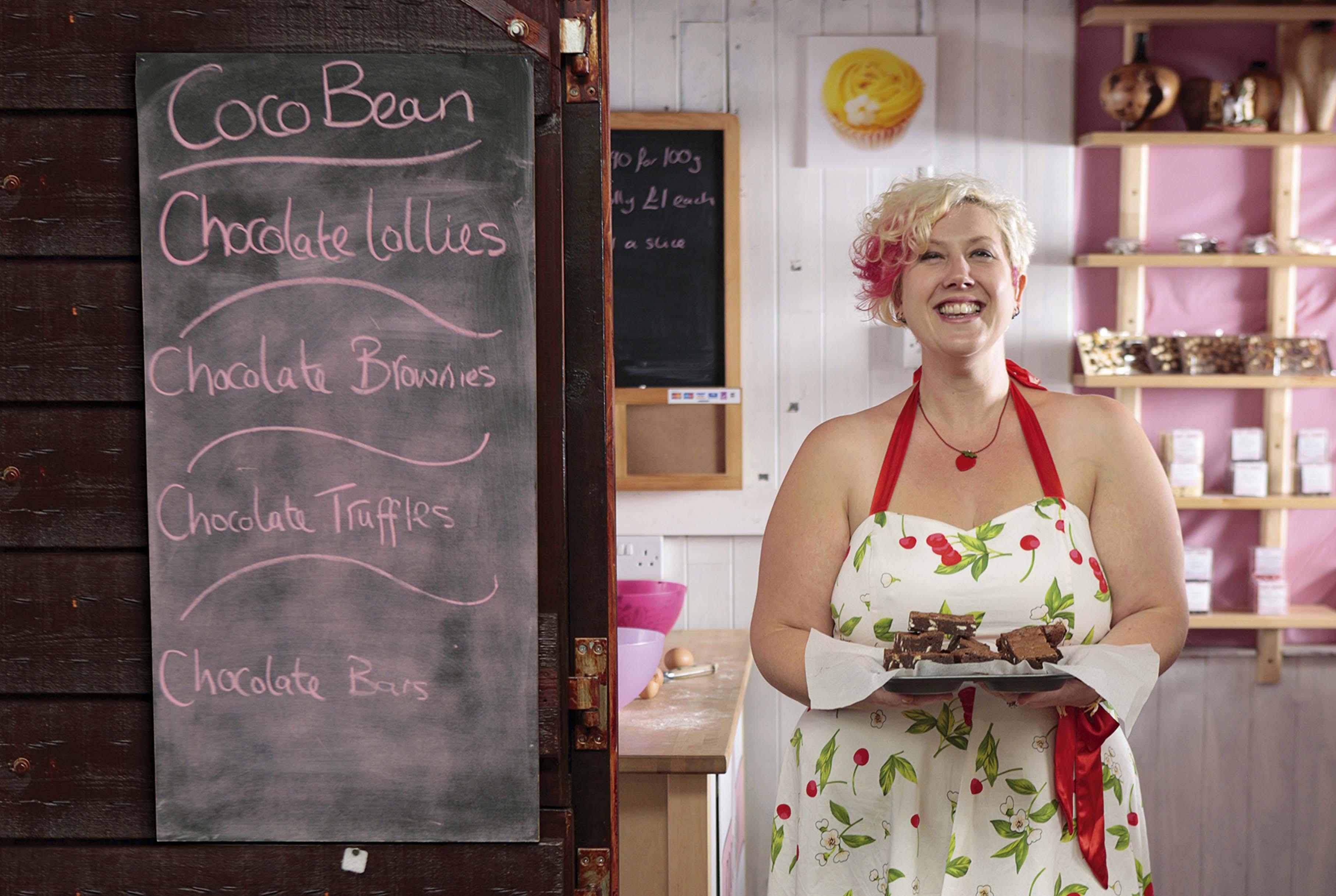 Ruth Campion-Clement, Coco Bean, True Taste Awards 2010.