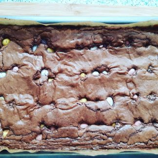 Mini Egg Brownie